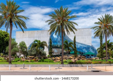 ST. PETERSBURG, FLORIDA - JULY 6: Incredible Salvador Dali Museum in St. Petersburg, FL, USA. The museum has one of the largest collection of works of Salvador Dali in the world.
