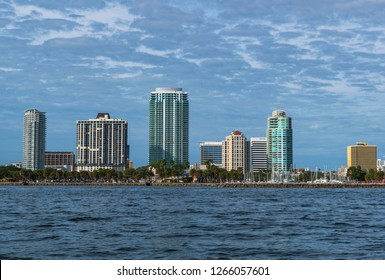 St Petersburg Florida from the water