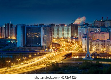 St. Petersburg at night southwest