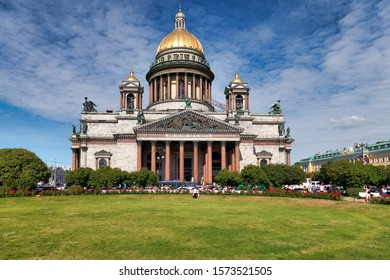 St. Petersburg Russia. St. Isaac's Cathedral. August 2019