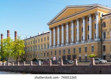 St. Petersburg, Russia - June 04.2017 The Obukhov hospital Military-medical Academy