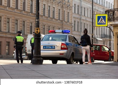 Russian Patrol Police Images, Stock Photos & Vectors