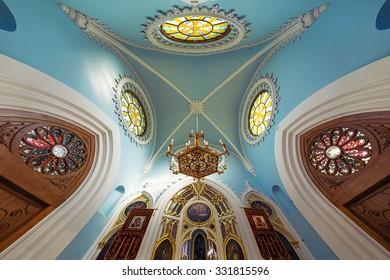 ST PETERSBURG, RUSSIA - October 11, 2015. Church of St. Alexander Nevsky