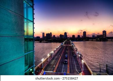 St. Petersburg Skyline at Sunset