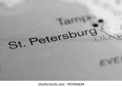 St. Petersburg. USA.