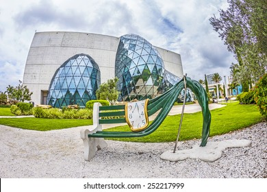 ST. PETERSBURG, USA - JULY 25, 2013: Exterior of Salvador Dali Museum in St. Petersburg, FL, USA. The museum has one of the largest collection of works of Salvador Dali in the world.