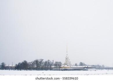St. Petersburg.  Zayachy Island