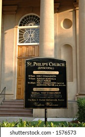 St Philips Church in Charleston, SC