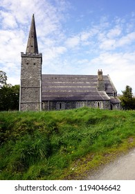 St. Saviour`s Church. The 18th century church situated in Greyabbey, Northern Ireland