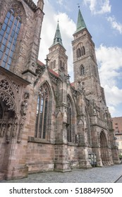 St Sebaldus church Nuremberg, a city in Franconia in the german state of Bavaria