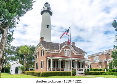 St. Simons Island light house in South East Georgia.
