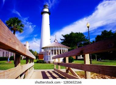 St Simons Island Lighthouse, St Simons Island, Georgia, USA
