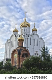 St. Stefanovsky Cathedral in the city Syktyvkar Russian Federation