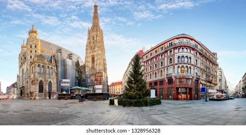 St. Stephan cathedral in Vienna - Wien, Austria