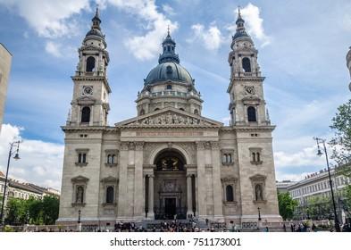 St. Stephen church in Budapest