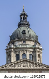 St. Stephen's Basilica (1905) is a Roman Catholic basilica in Budapest, Hungary. It is named in honor of Stephen - first King of Hungary, this is most important church building in Hungary.