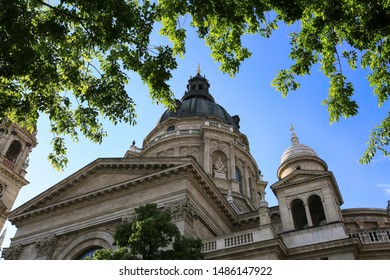 St. Stephens Basilica - the largest and most famous temple of Budapest in Hungary