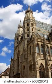 St. Stephen`s Cathedral, Stephansdom in Vienna, Austria