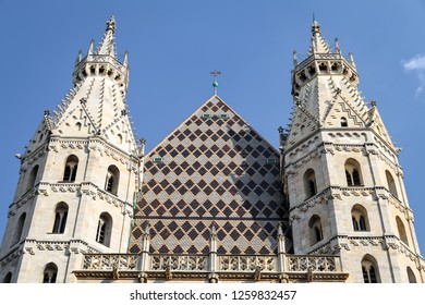 St Stephens Cathedral in Vienna City, Austria