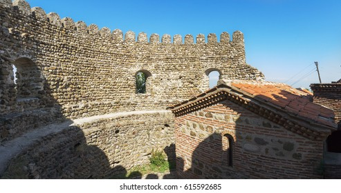 St. Stephen's Church in Sighnaghi city at Kakheti region. It is City of Love in Georgia, with many couples visiting it just to get married