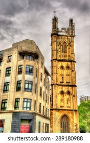 St Stephen's House and St Stephen's Church in Bristol - England
