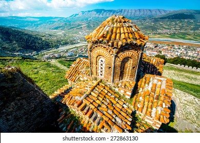 St. Theodores church in Berat city, Albania