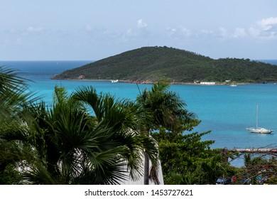 St Thomas U.S Virgin Islands Colorful Travel Image