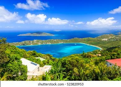 St Thomas, US Virgin Islands. Magens Bay