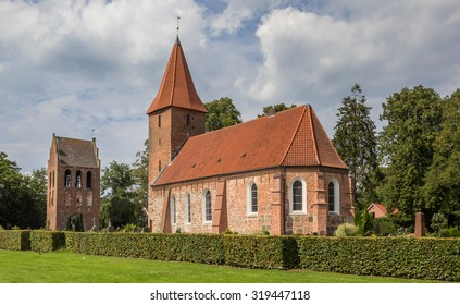 St. Ulrichs church in historical Rastede, Germany