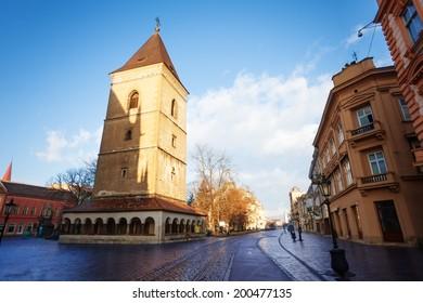 St. Urban Tower (Urbanova veza) Kosice, Slovakia - Shutterstock ID 200477135
