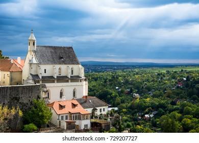 St. Vaclav Chapel - Znojmo city, Czech Republic, Europe