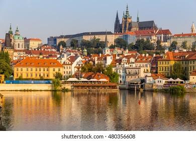 St. Vitus Cathedral, and Prague Castle, Czech Republic
