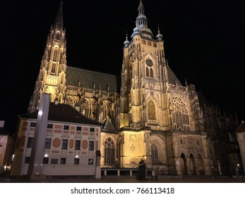 St Vitus Cathedral, Prague Castle Czech Republic