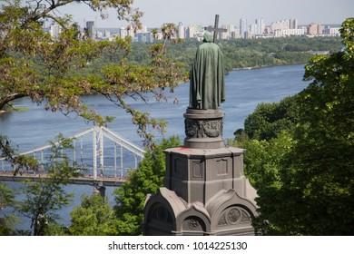 St. Vladimirs monument in Kiev, Ukraine.