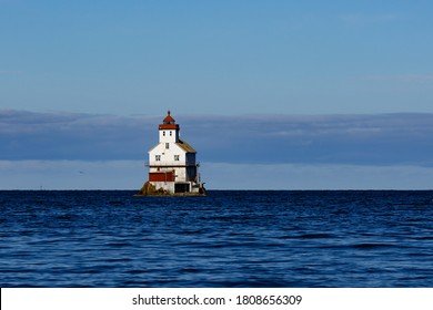 The Stabben lighthouse in Norway