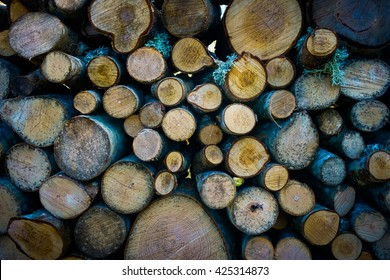 Stable of fire wood