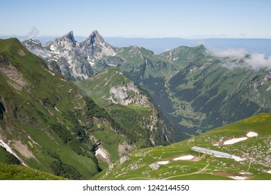 Stable in surrounding mountains like Les Jumelles mountain (Switzerland)