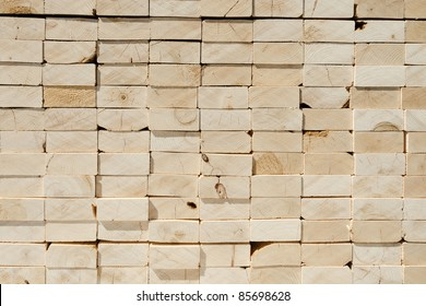 Stack of 2x4 studs background