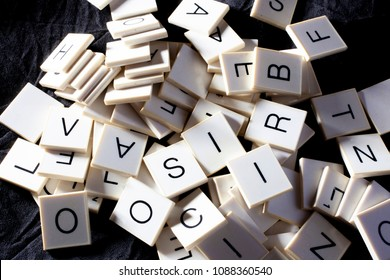 stack of alphabet letters