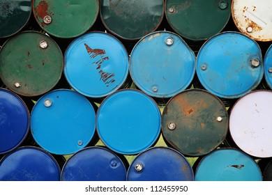 stack of barrel.