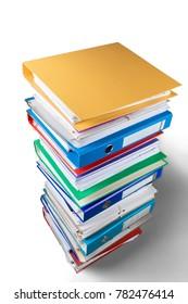Stack of Binders / Folders