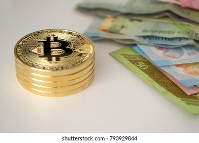 Stack Bitcoin with world bills
