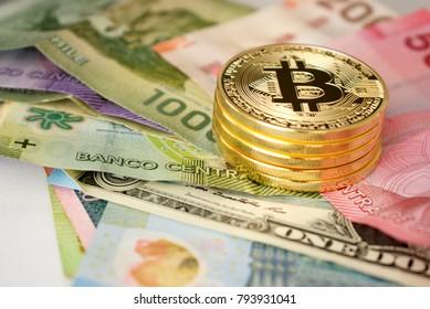 Stack Bitcoin with world bills