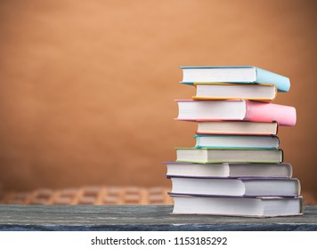 Stack Book on the desk