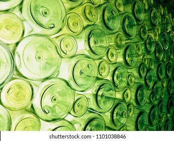 empty Bottom bottle an of