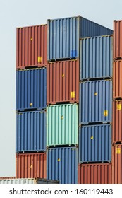 Stack of Cargo Containers