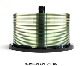 Stack of CD recordable