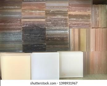 Stack of cutting Acrylic sheet
