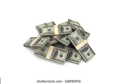 Stack of Dollar.