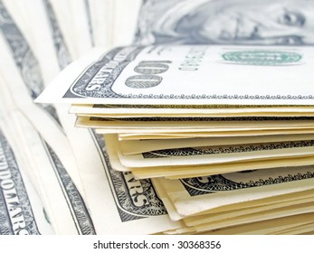 Stack of dollars background. See more dollars theme in my portfolio.